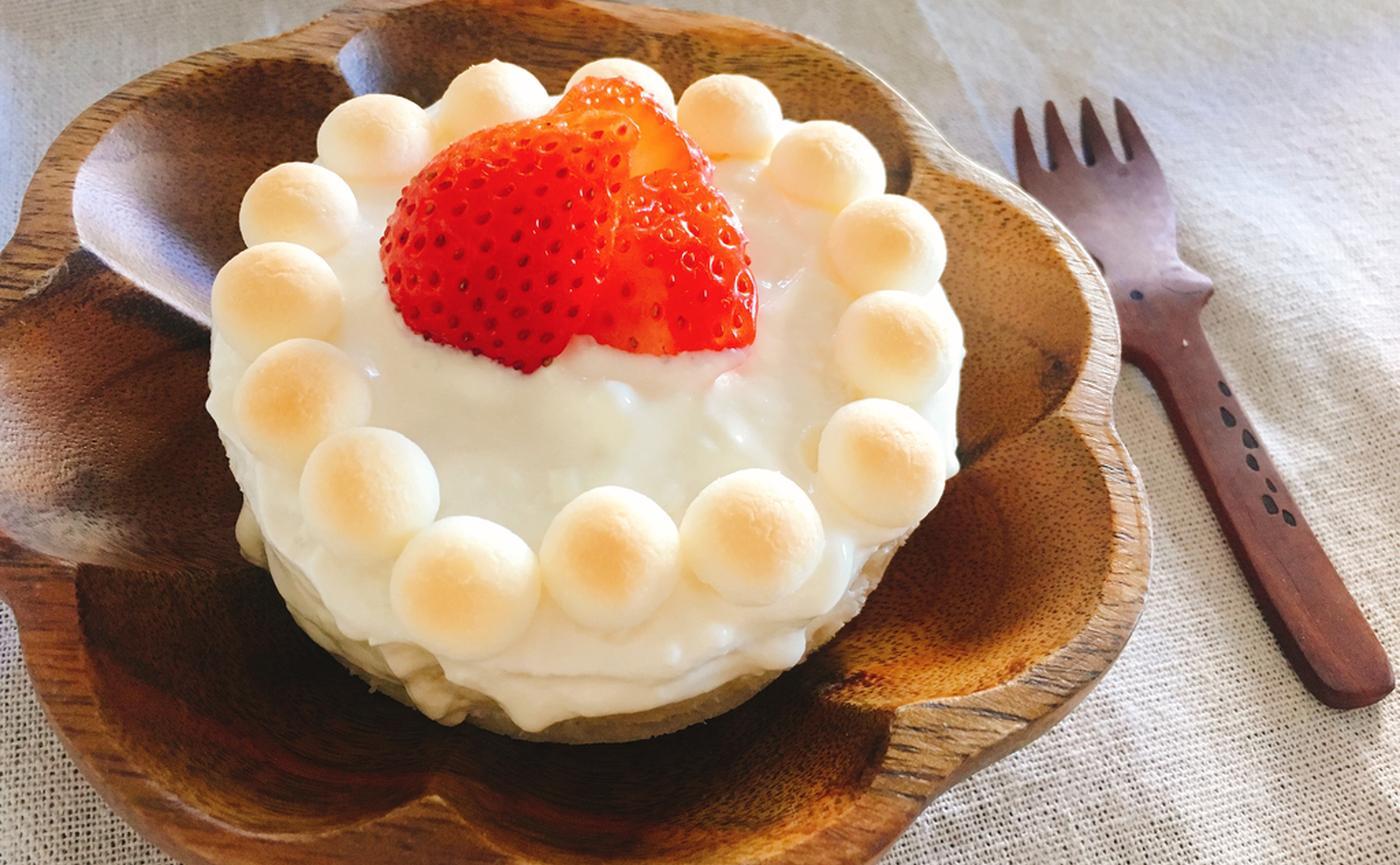 スポンジケーキの写真