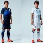 サッカー日本代表新ユニフォーム!なでしこジャパンもフットサルも新ユニフォームを発表!